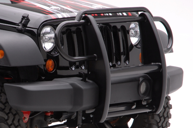 ARIES Jeep Wrangler grille guard