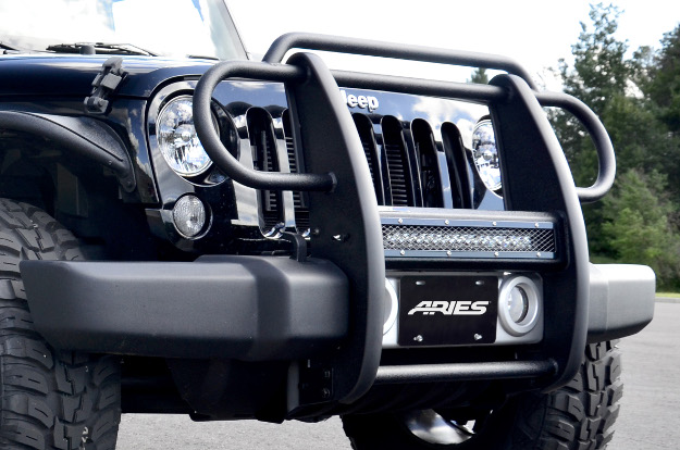 ARIES Pro Series™ Jeep Wrangler grille guard