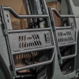 ARIES Jeep doors with black aluminum construction - 4-door