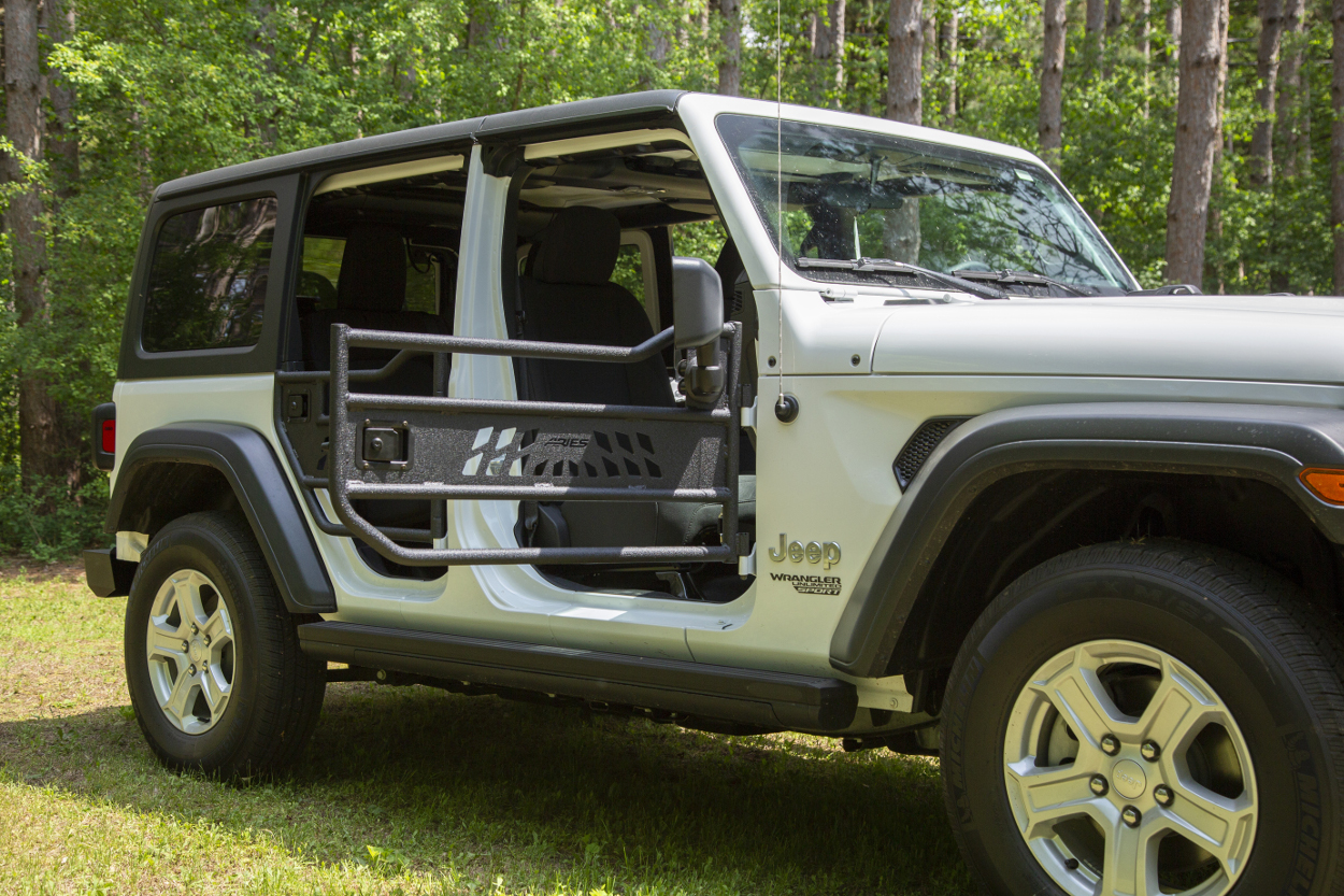 Aries Running Boards >> Learn about Jeep Wrangler & Gladiator Tube Doors from ARIES