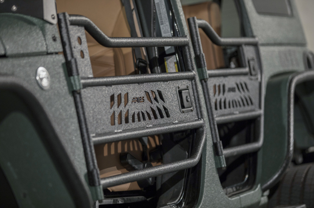 ARIES Jeep tube doors half doors - Jeep Wrangler accessories