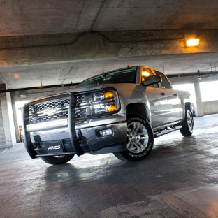 2015 Chevrolet Silverado 1500 with ARIES LED light bar