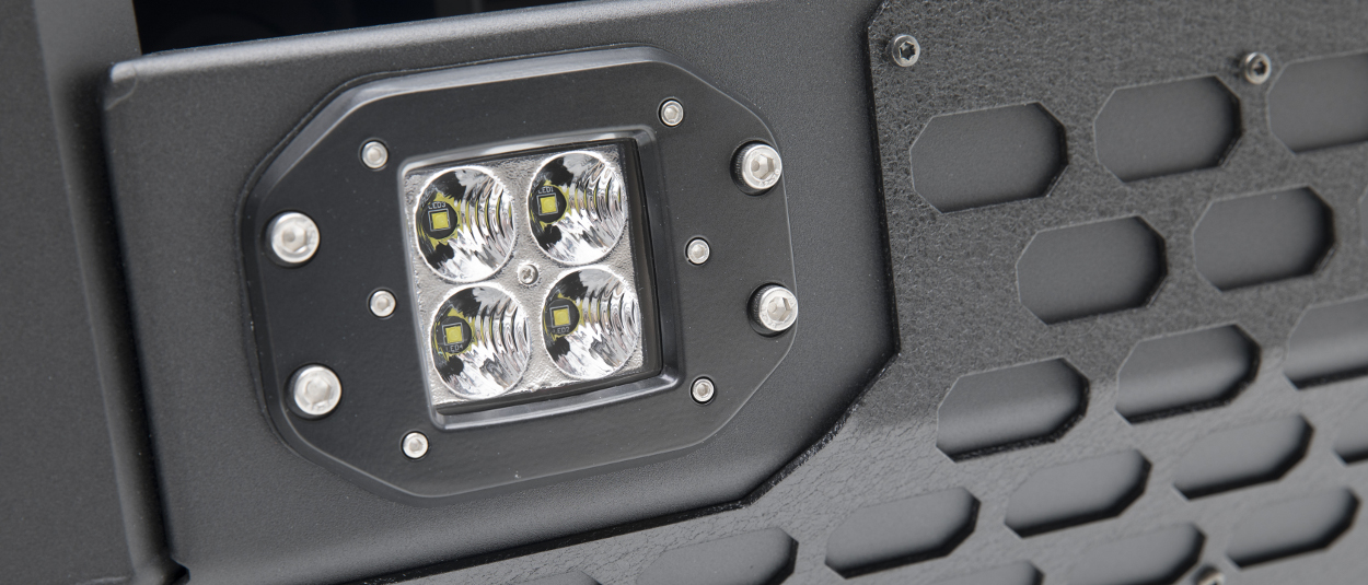 ARIES flush-mount LED lights