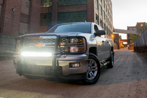 ARIES LED light bar on Chevrolet Silverado 1500