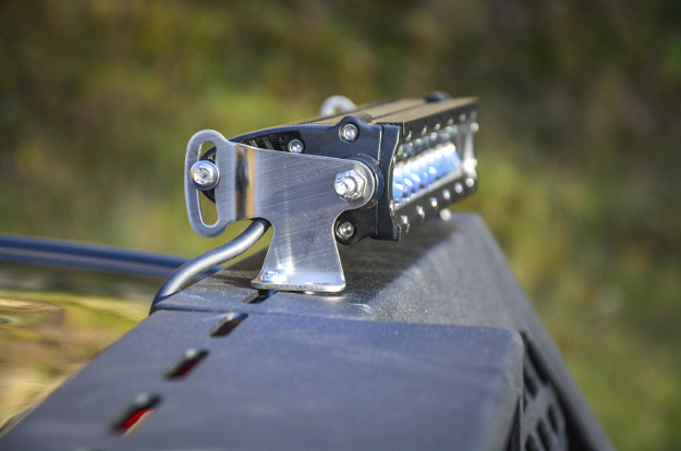 ARIES LED light bar with waterproof wiring harness and bracket