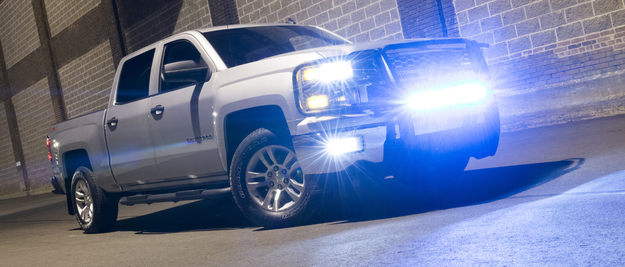 ARIES truck LED lights on Chevrolet Silverado 1500