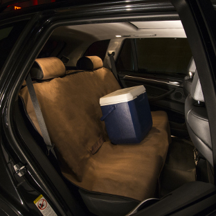 ARIES Seat Defender brown XL bench seat cover - cooler