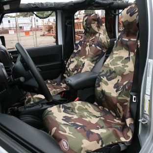 ARIES Seat Defender camouflage bucket seat covers