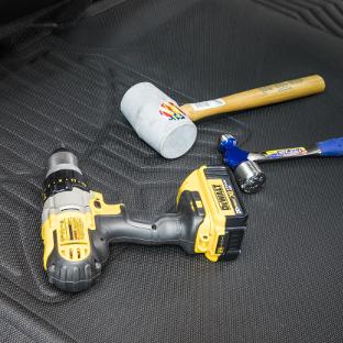 ARIES StyleGuard XD custom floor liners - power tools