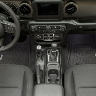 ARIES StyleGuard XD Jeep floor liners - first row