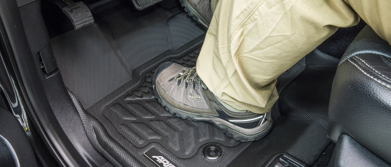 ARIES StyleGuard® XD truck floor liners - work shoe
