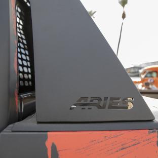 ARIES Switchback custom truck headache rack