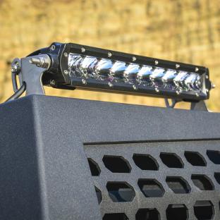 ARIES Switchback headache rack with LED light bar
