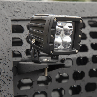 ARIES Switchback headache rack with LED light