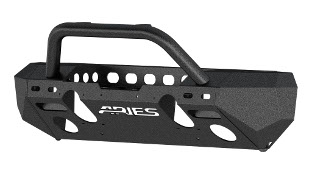 ARIES TrailChaser® Jeep Wrangler bumper with brush guard - aluminum #2082054