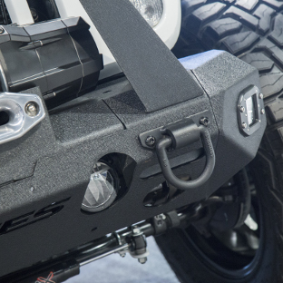 ARIES TrailChaser® Jeep Wrangler bumper with D-rings