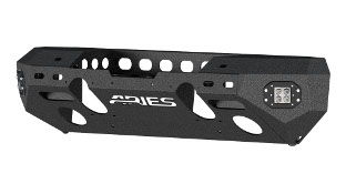 ARIES TrailChaser® Jeep Wrangler bumper with LED lights - steel #2082057