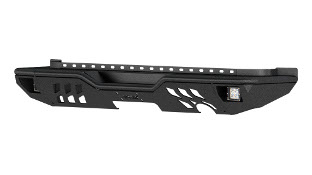 ARIES TrailChaser® Jeep Wrangler rear bumper with LED lights - aluminum #2082061
