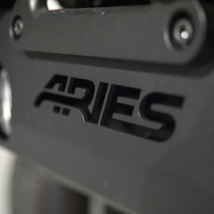 ARIES TrailCrusher® Jeep bumper logo cutout