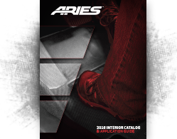 ARIES 2016 Interior Catalog