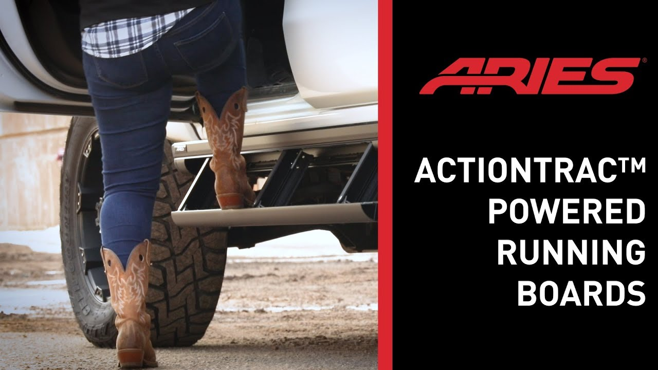 ActionTrac™ Powered Running Boards Feature Video