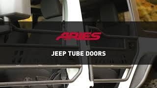 ARIES Jeep Tube Doors Video