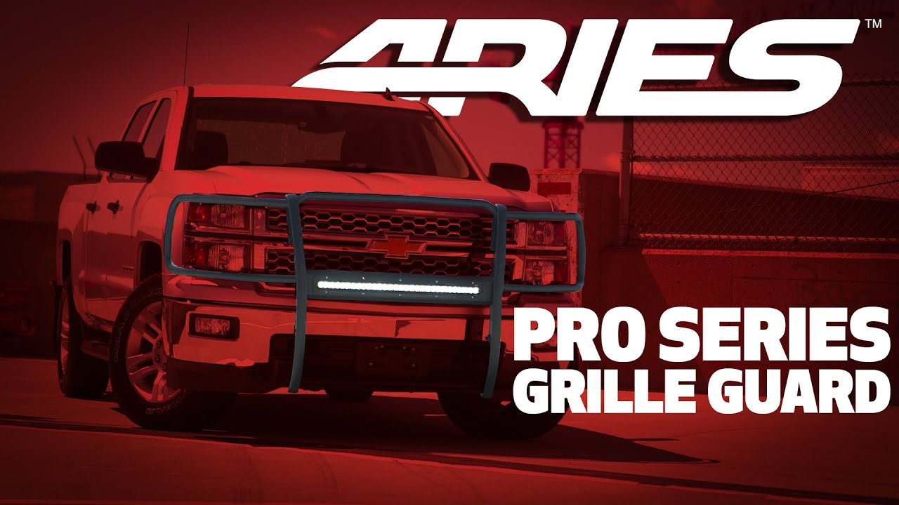 ARIES Pro Series Grille Guard Feature Video