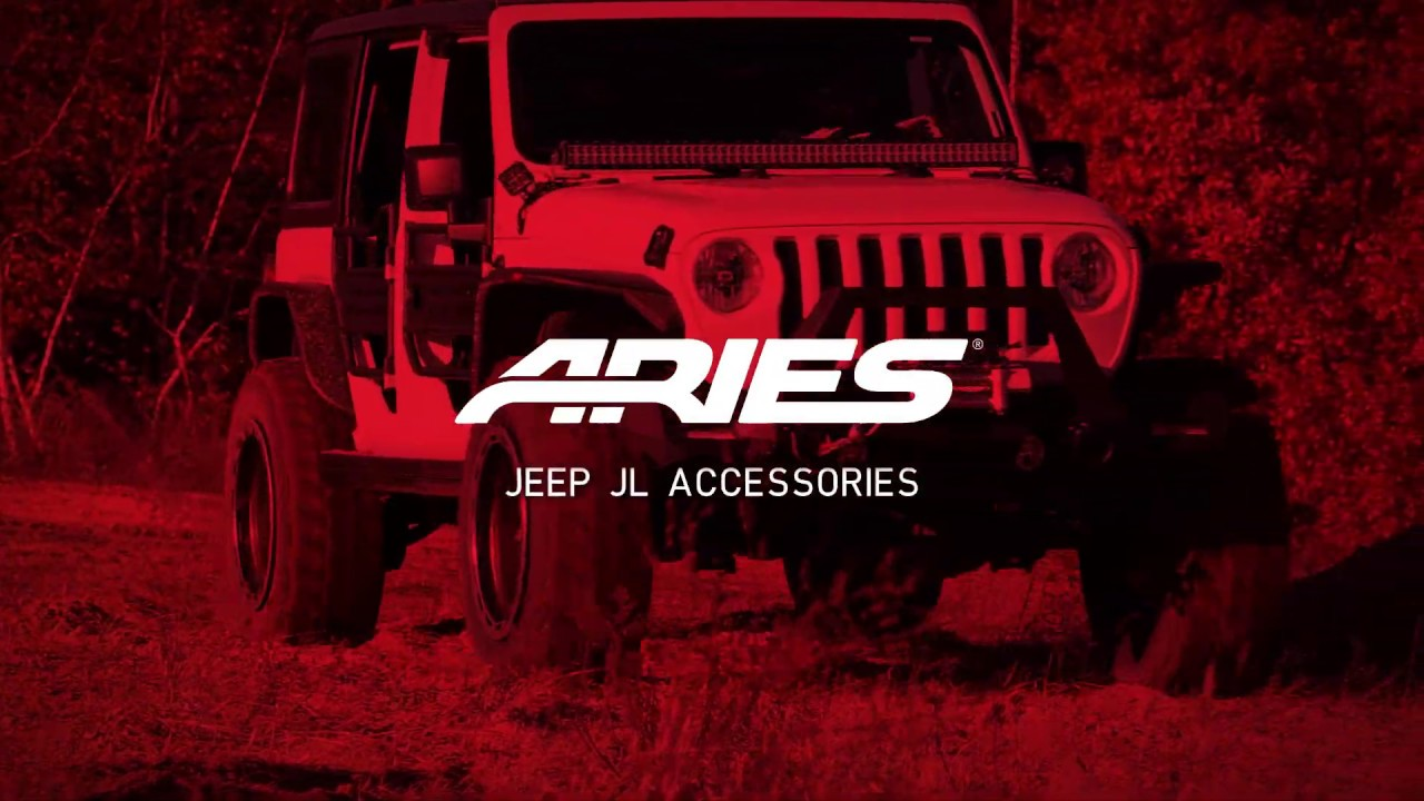 New Jeep JL Accessories at SEMA 2018 Video