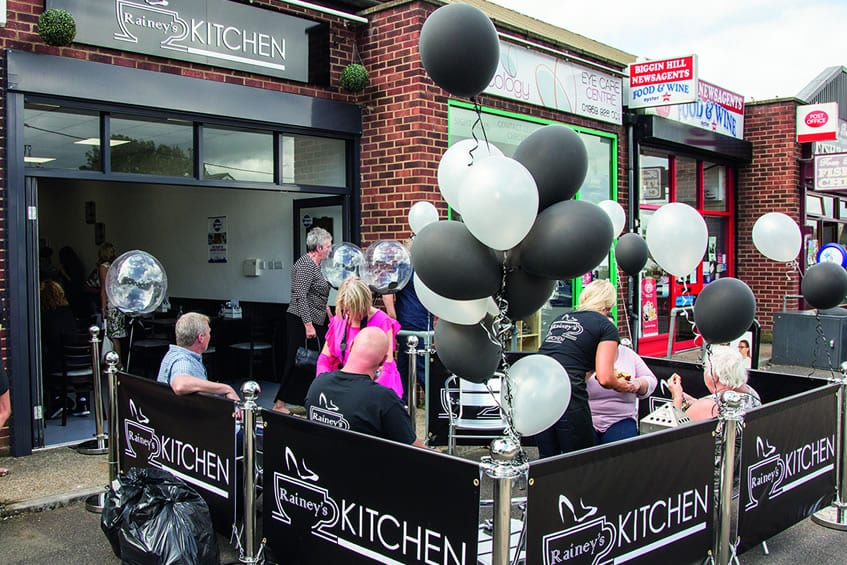 Raineys Kitchen Launching With Arments Pie and Mash