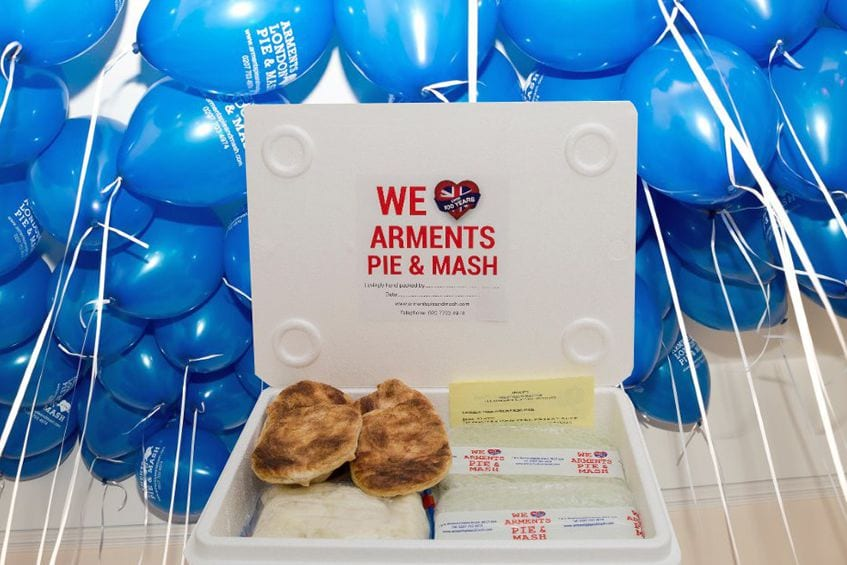 Arments Pie & Mash London - It's Our 104th Birthday!