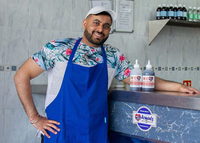 Owner Of Ocean Fresh Fish And Chips Bexley