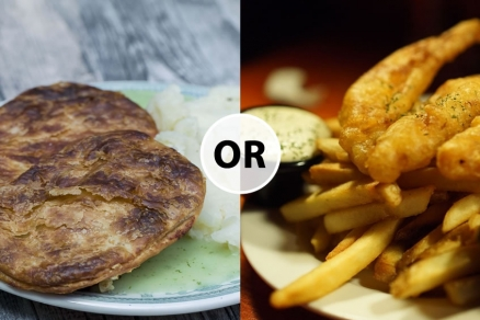 Arments Pie & Mash or Fish And Chips