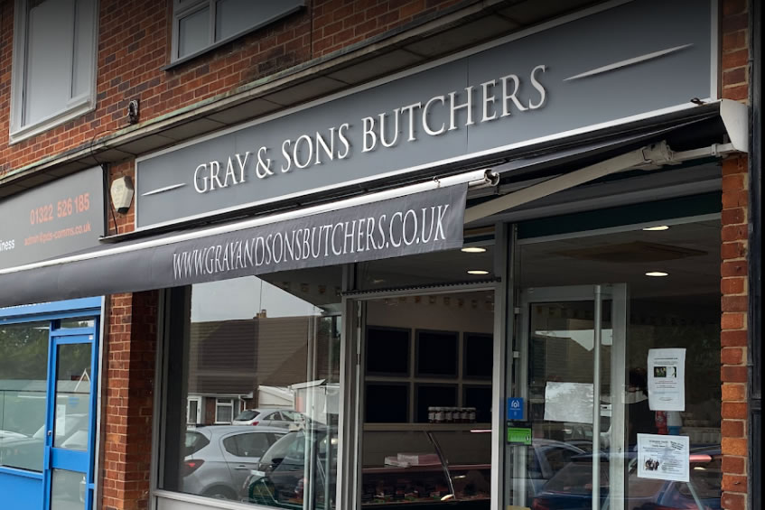 Gray & Sons Butchers - Wilmington - Now Selling Arments Pie & Mash!