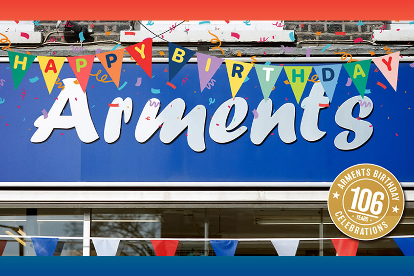 Celebrate Arments Pie & Mash 106th Birthday Celebrations