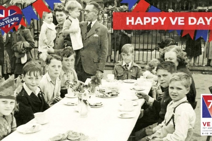 Arments Pie & Mash - VE Day 2020