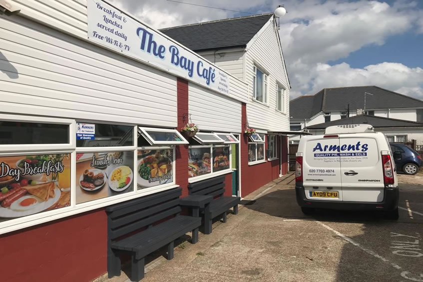 The Bay Cafe - Romney Marsh - Licensed Seller