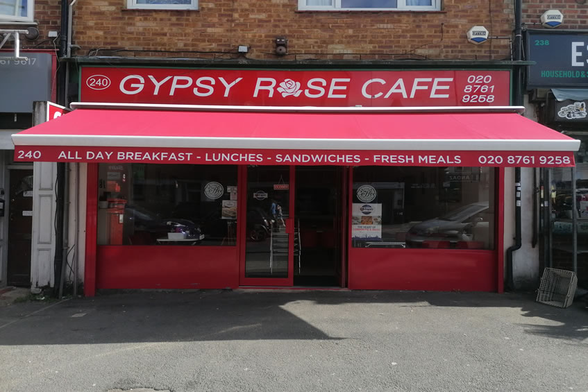 Gypsy Rose Cafe - Norwood, London - Licensed Seller