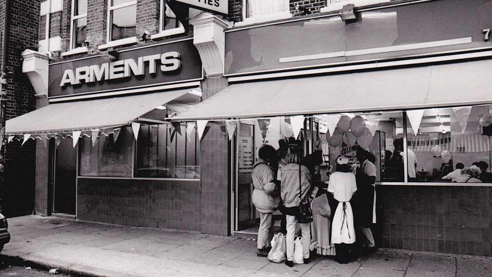 Arments Pie & Mash - 80th Birthday