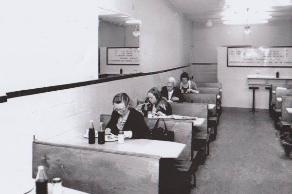 Inside Arments Pie & Mash London - Approx 1960