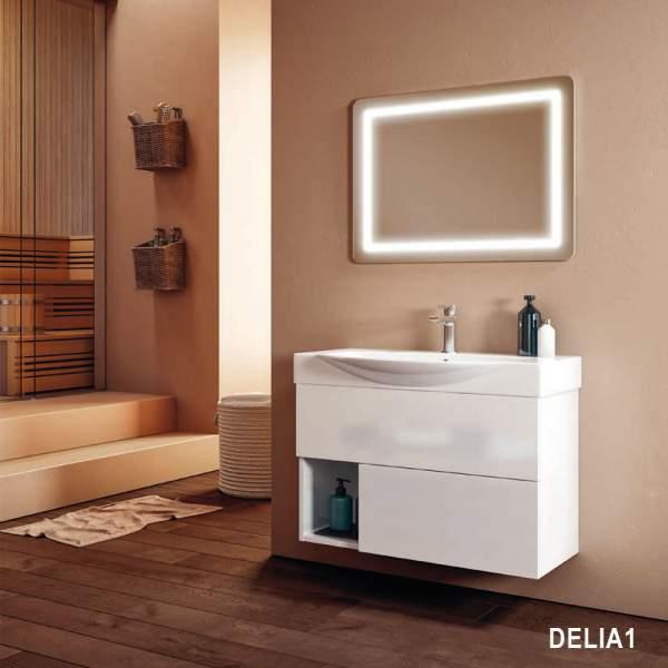 Composizione Bagno Sospesa 85 Delia