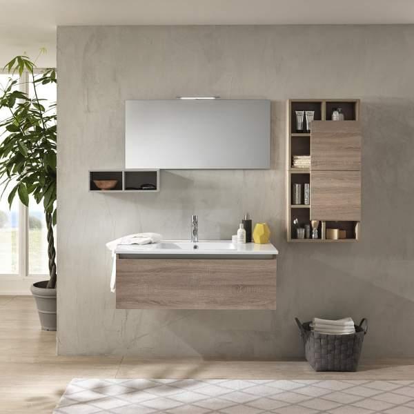 Mobile Bagno Moderno 180 Ibiza Tacacco Chiaro Tft Home Forniture