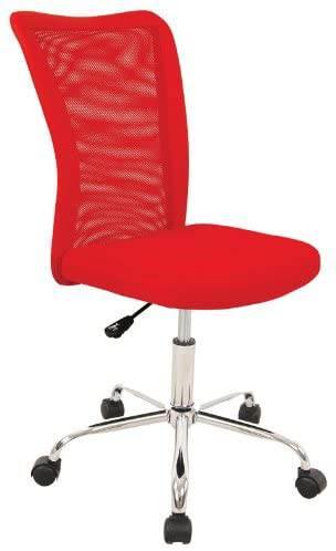 Sedia Da Ufficio Rossa 1