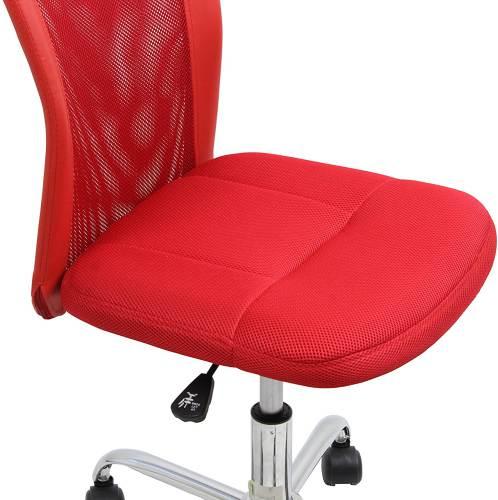 Sedia Da Ufficio Rossa 3