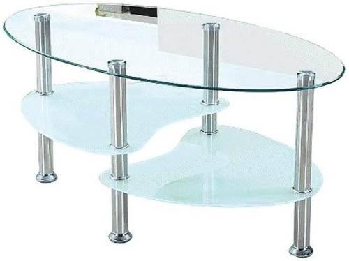 Tavolino Da Soggiorno Willi In Vetro 2