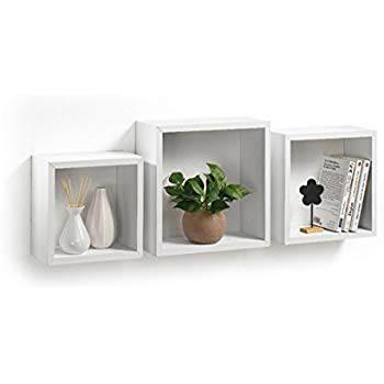 Cubi Da Parete Mobili Modul Home Bianco