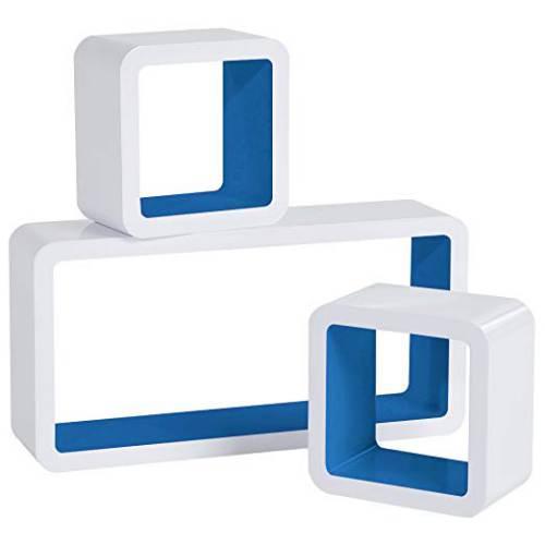 Cubi Da Parete Woltu Rg9229dbl Bianco E Blu