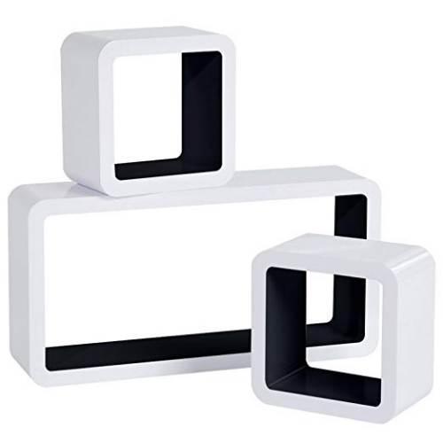 Cubi Da Parete Woltu Rg9229dbl1 Bianco E Nero