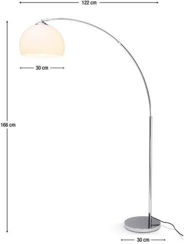 Lampada Da Terra Arco Brilliant 4