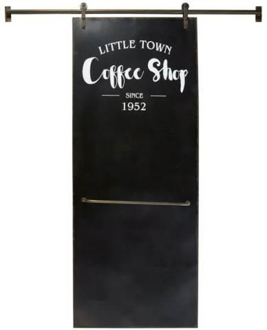 Lavagna In Ardesia Scorrevole Con 6 Magneti 168x210 Coffe Shop