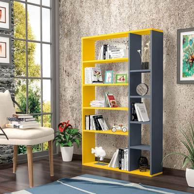 Libreria A Cubi Colorata Nova